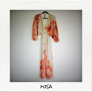 MISA Emala Long Dress NWOT